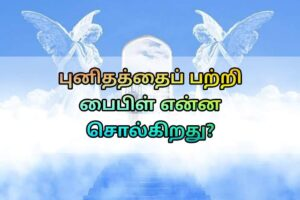Holy Bible Verses In Tamil